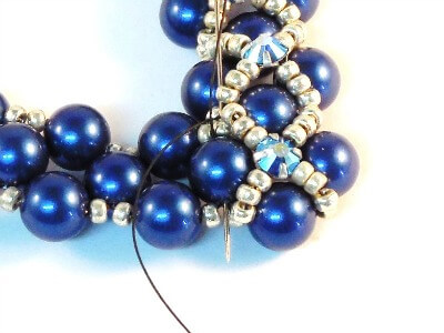 Step 38 - How to make a beaded necklace