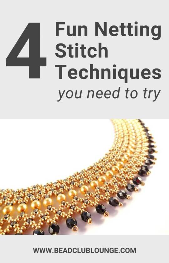 4 Fun Netting Stitch Techniques You Need To Try