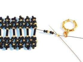 Step 28 - Brilliant Bugle Bracelet pattern