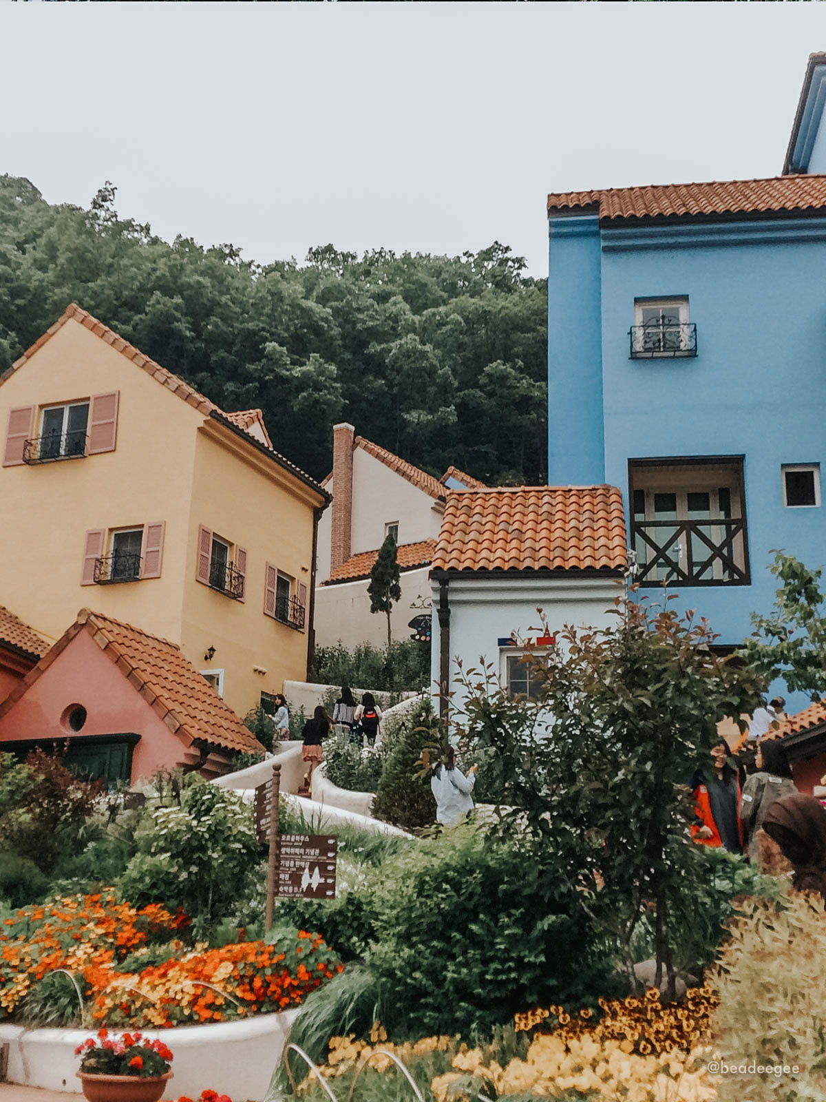 The colorful houses of Petite France