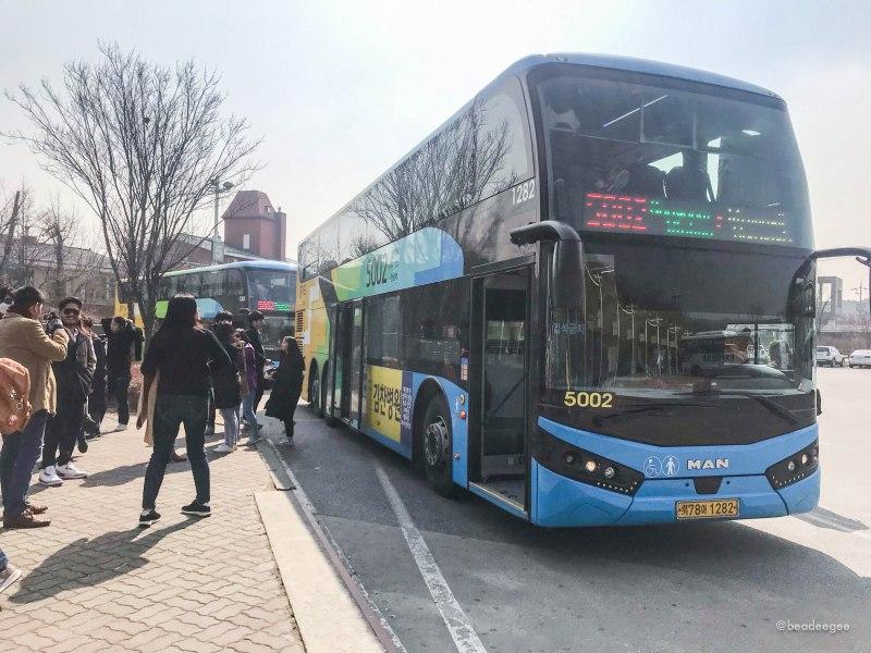 Bus 5002 to Everland South Korea