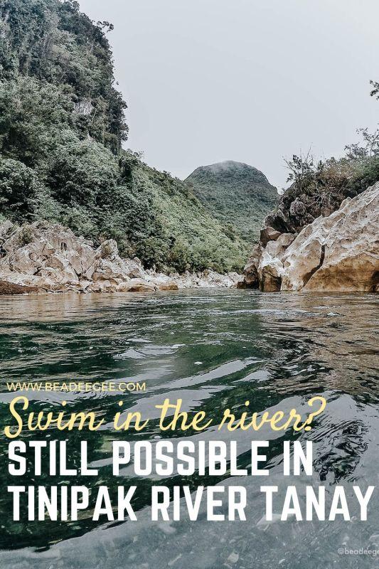 Tinipak river in tanay rizal