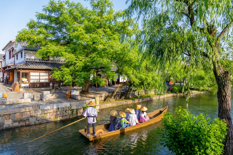 a river boat ride in japan is a perfect activity for your first trip in japan