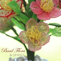 Wildflowers by Bead Flora and Jewels, Bead Flora Studio, Fen Li
