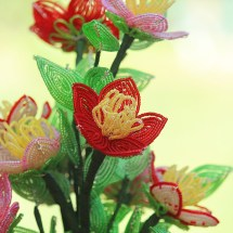 Wildflowers by Bead Flora and Jewels, Bead Flora Studio, Fen Li