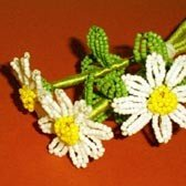 Daisy French beading pattern