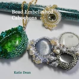 bead embellished cabochons