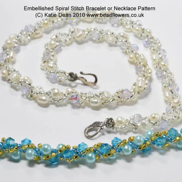 Embellished Spiral Rope Tutorial