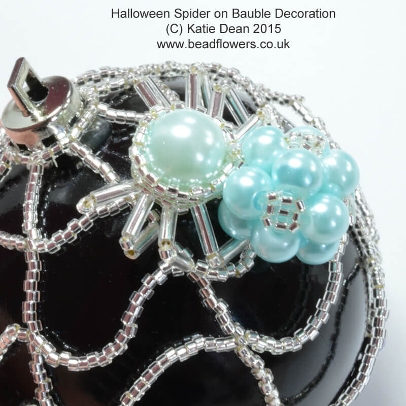Beaded Halloween Decoration