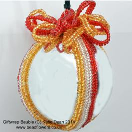 Christmas Bauble Beading Pattern