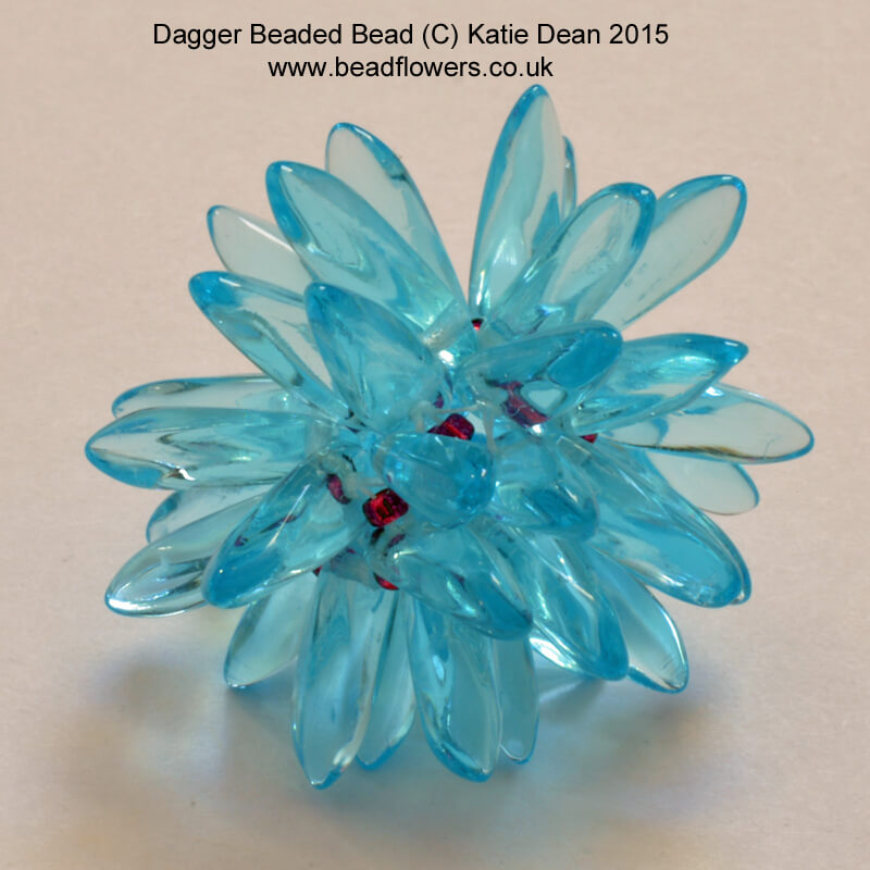 dagger beads beaded bead