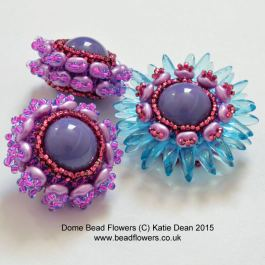 dome beads flowers