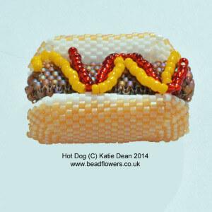 Hot Dog Beading Pattern