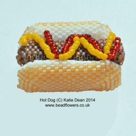 Hot Dog Beading Pattern