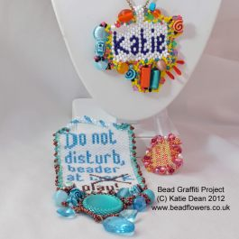 Bead Graffiti Pattern