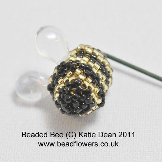 Beaded Bee Pattern