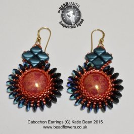 Beaded Earrings Tutorial: 'Elegance'