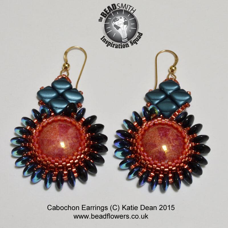 Beaded Earrings Tutorial: 'Elegance'