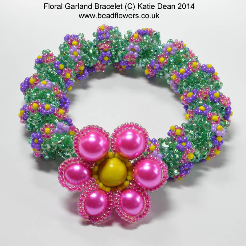 floral garland bracelet