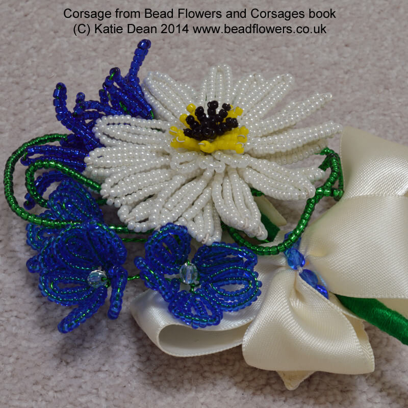 Bead Flowers and Corsages, Katie Dean, Beadflowers