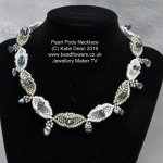 Peyote stitch diamond
