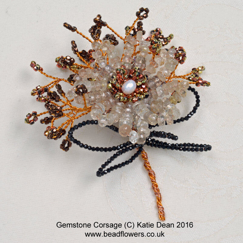 Beaded Corsage