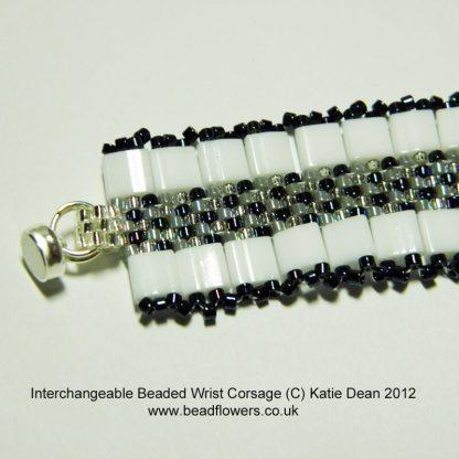 Beaded Wrist Corsage
