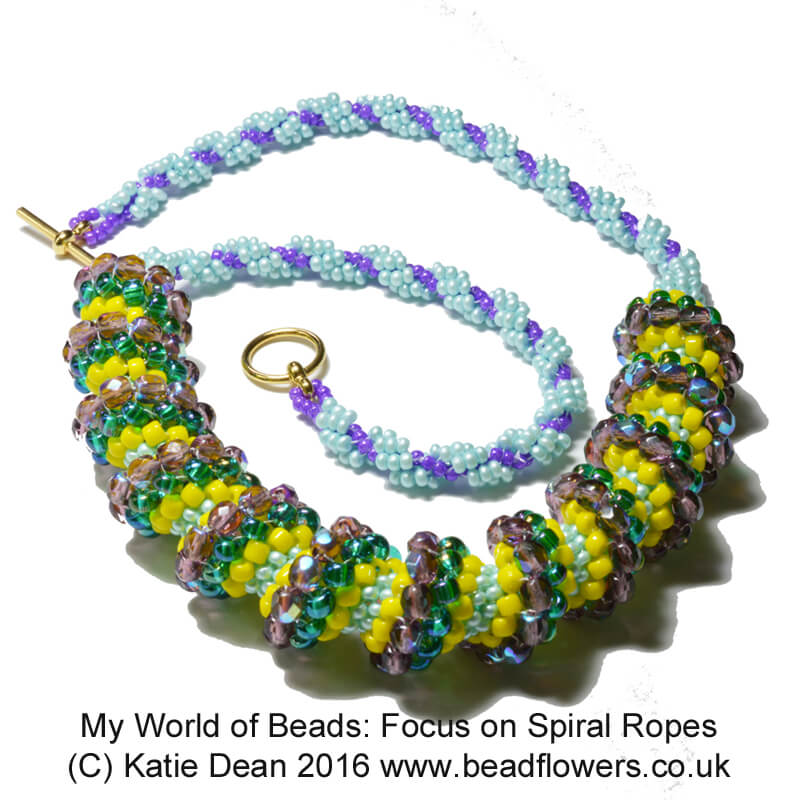 Beaded Spiral Rope