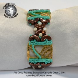 Beaded Art Deco Bracelet