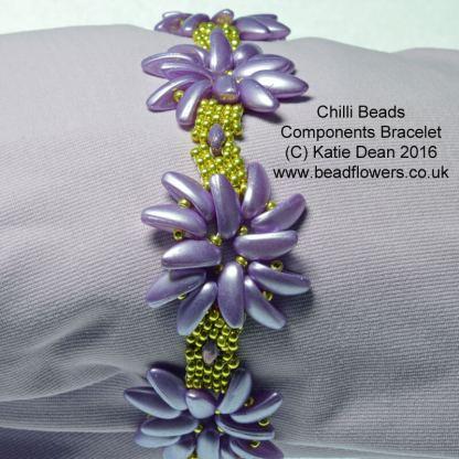 Chilli Beads Components Bracelet