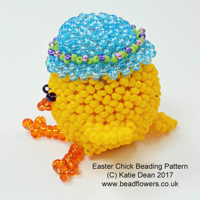 Beaded Easter Chick