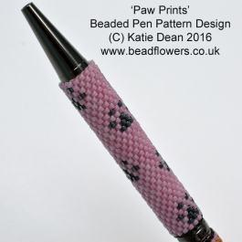 Paw Print Bead Pattern