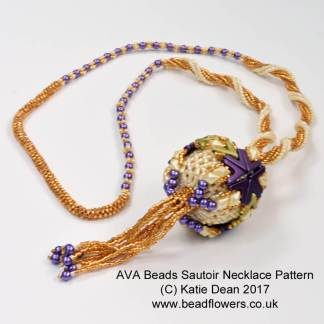 AVA Beads Sautoir Necklace