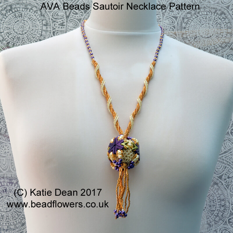 AVA Beads Sautoir Necklace