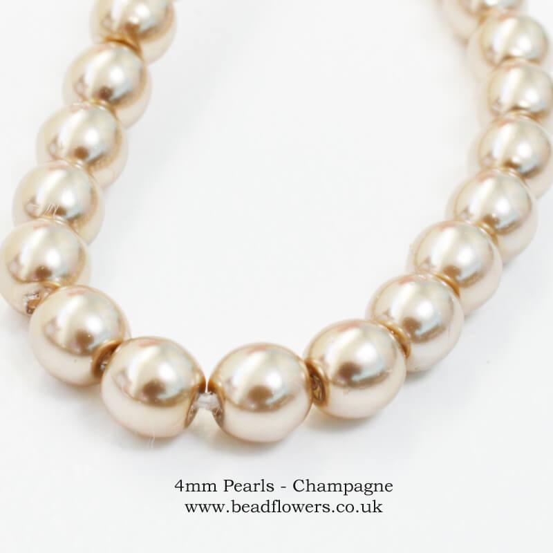 Buy 4mm pearls, Katie Dean, Beadflowers
