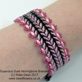 Superduo Duet Herringbone Bracelet: Superduo Duets Kit