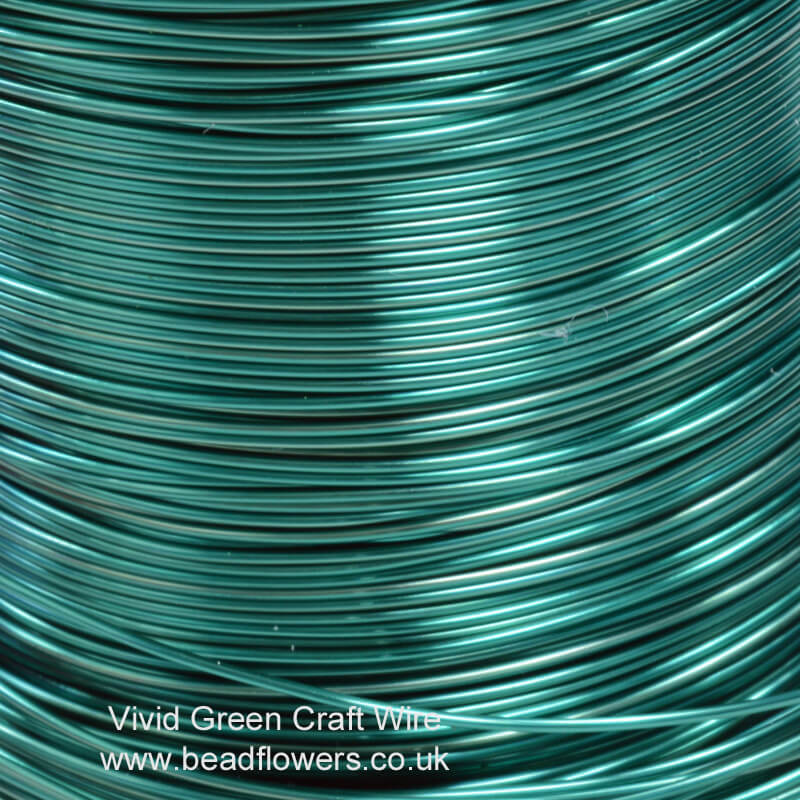 Coloured Copper Craft Wire Reels for Sale: UK ~ Beadflowers