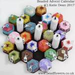 Beaded Advent Calendar Pattern by Katie Dean, Beadflowers
