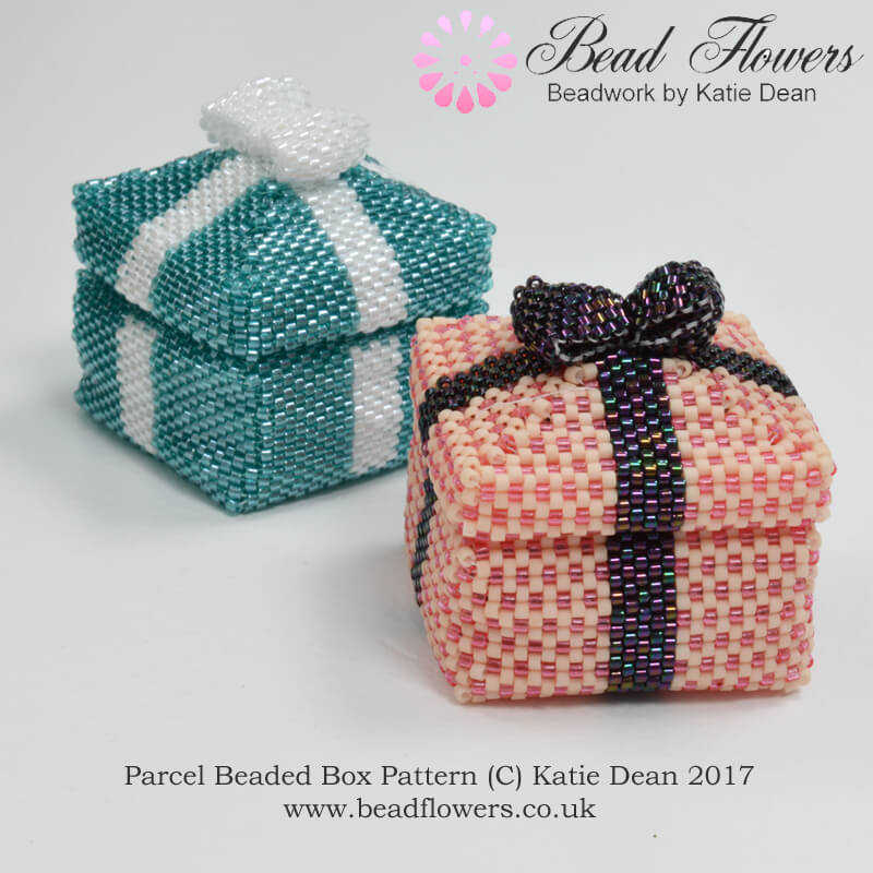 how to make beaded boxes