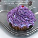 Cupcake Beaded Box Pattern, Katie Dean, Beadflowers, November Beading Project