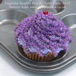 Cupcake Beaded Box Pattern, Katie Dean, Beadflowers, November Beading Project