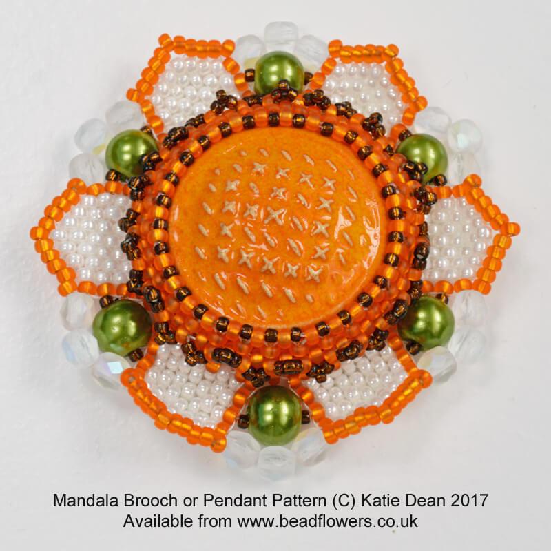 Beaded Mandala Tutorial