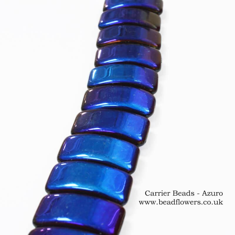 Carrier beads UK, glass carrier beads, Katie Dean, Beadflowers