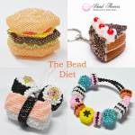 The Bead Diet, blog by Katie Dean, Beadflowers