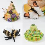 Beehive Beaded Box: How to make your own version, Katie Dean, Beadflowers