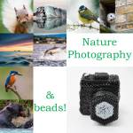 Nature photography and beads, Katie Dean, Beadflowers