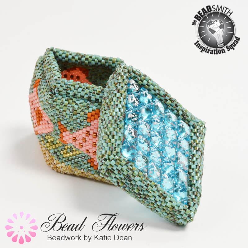 Underwater beaded box, Katie Dean, Beadflowers