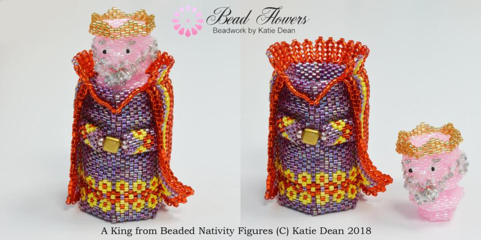 Beaded Nativity Set, Katie Dean, Beadflowers