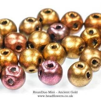 RounDuo Mini Beads UK, 95 beads, Katie Dean, Beadflowers