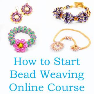 How to Start Bead Weaving: Online Course by Katie Dean